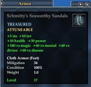 Schmitty's Seaworthy Sandals