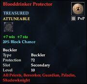 Blooddrinker Protector