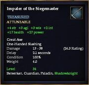 Impaler of the Siegemaster
