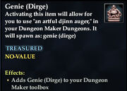 Genie (Dirge)