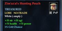 Zim'za'ai's Hunting Pouch