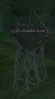 A bramble terror