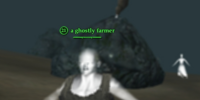 A ghostly farmer