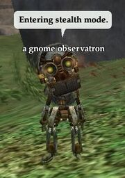 A gnome observatron (deployed)