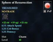 Sphere of Resurrection