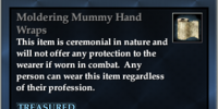 Moldering Mummy Hand Wraps