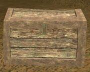 An airtight box (Visible)