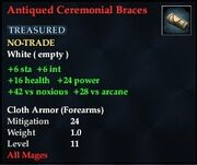 Antiqued Ceremonial Bracers
