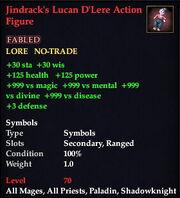 Jindrack's Lucan D'Lere Action Figure