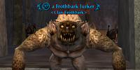 A Frothbark lurker