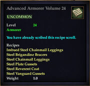 Advanced Armorer Volume 24
