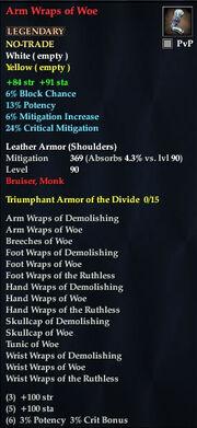 Arm Wraps of Woe