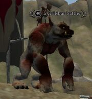 A Grikbar battler