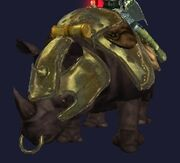 A Rilissian Soldier's Mount appear