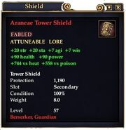 Aranae Tower Shield