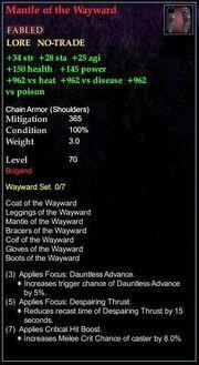 Mantle of the Wayward