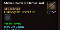 Misha's Baton of Eternal Frost