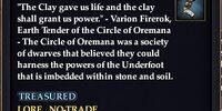 Oremana mantles