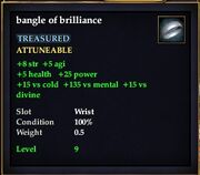 Bangle of brilliance