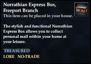 Norrathian Express Box, Freeport Branch