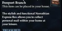Norrathian Express Box, Freeport Branch
