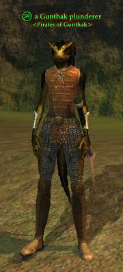 A Gunthak plunderer (Mystic Lake)
