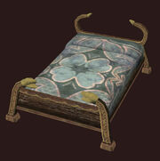 An Ornate Freeport Bed Placed