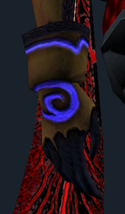 Corrupted Soul Chainlink Gloves (Equipped)
