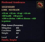 Firebrand Armbraces