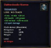 Dabberdoodle Sleeves