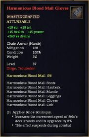 Harmonious Blood Mail Gloves