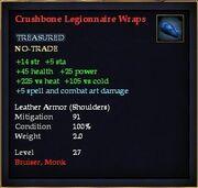 Crushbone Legionnaire Wraps