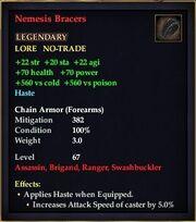 Nemesis Bracers