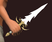 Silver Dragon's Dagger (Equipped)