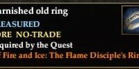 A tarnished old ring