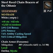 Steel Reed Chain Bracers of the Othmir