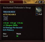 Enchanted Defender's Strap