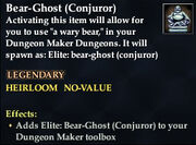 Bear-Ghost (Conjuror)