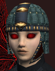 Pitted circlet (Equipped)