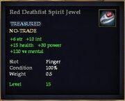 Red Deathfist Spirit Jewel