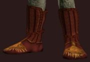 Seraphic Shoes of the Elementalist (Equipped)