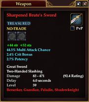 Sharpened Brute's Sword (59)