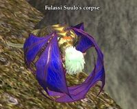 Fulassi Suulo's corpse