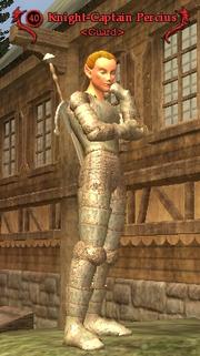 Knight-Captain Percius