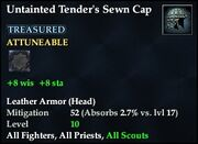 Untainted Tender's Sewn Cap