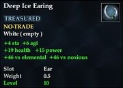 Deep Ice Earing