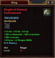 Ringlet of Enternal Enchantments