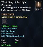 Waist Strap of the High Priestess