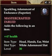 Sparkling Adornment of Endurance (Superior)