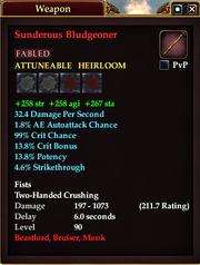 Sunderous Bludgeoner